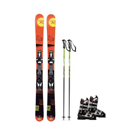 Kids Demo Ski Rental Package